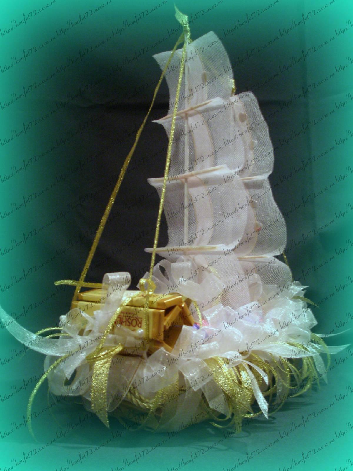 Кораблик на свадьбу фото